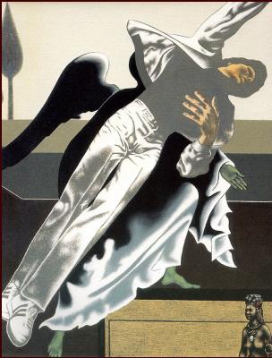 Джудит Клут. Мужчина в белом