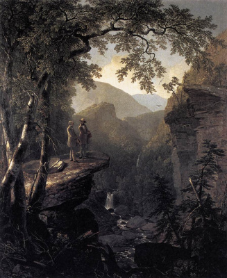 Asher Brown Durand. On the edge