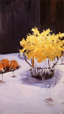 John Singer Sargent. Still life with daffodils