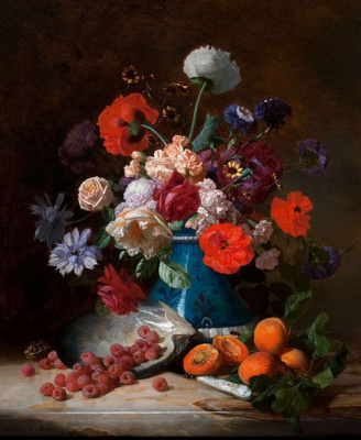 Давид Эмиль Жозеф де Нотер. Фрукты и овощи