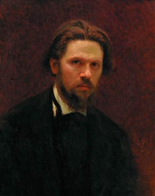 Ivan Nikolayevich Kramskoy. Self-portrait