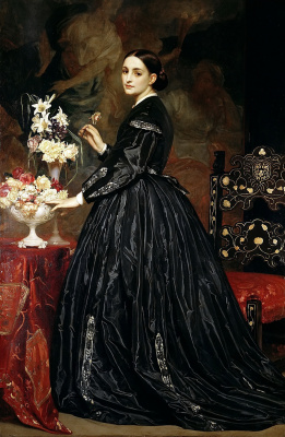 Frederic Leighton. Mrs. James Guthrie