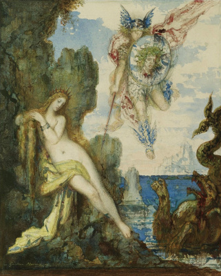 Gustave Moreau. Perseus and Andromeda