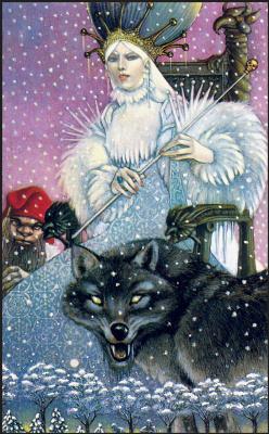 Лео и Диана Диллон. Снежная королева