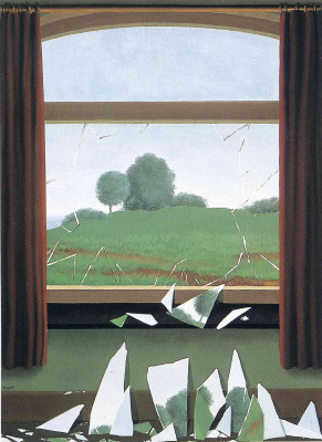 René Magritte. The key to the fields