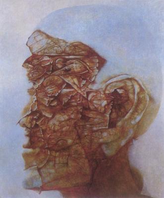 Zdzislaw Beksinsky. Plot 56