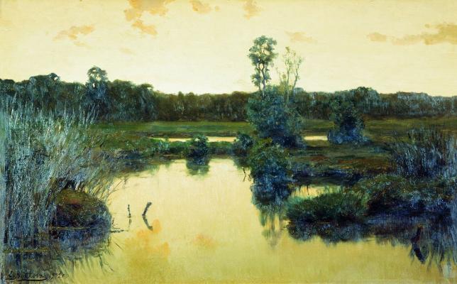 Efim Efimovich Volkov. Swamp
