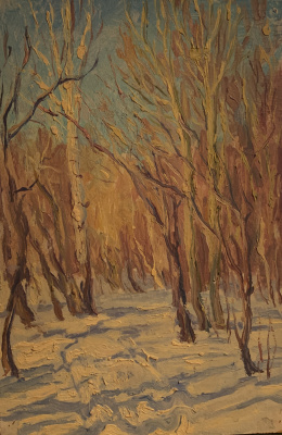 Oleg Alekseevich Dmitriev. Winter sun