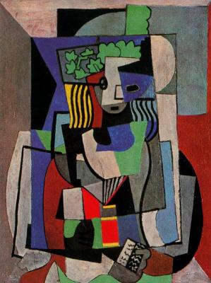 Пабло Пикассо. Студентка