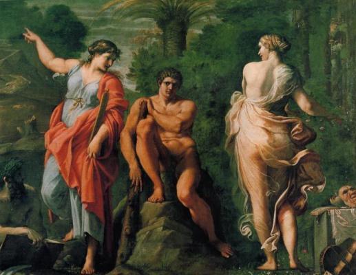 Annibale Carracci. The Choice Of Hercules