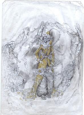 Oleg Svistunov. Dance of the dervish