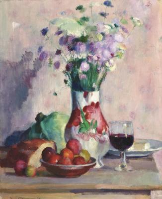 Анри Оттманн. Красные яблоки.1920