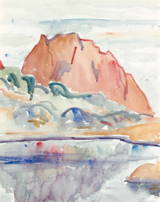 Giovanni Giacometti. Pic Mardell, The Alps