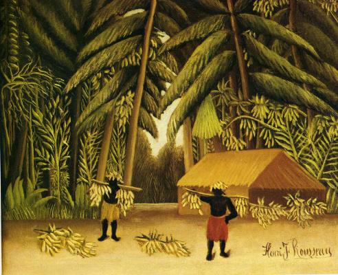Henri Rousseau. Banana harvest