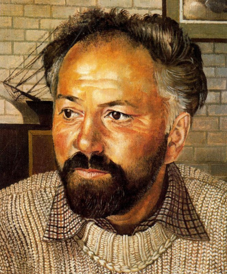 John Roddem Spencer-Stanhope. Portrait of a man