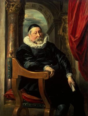 Якоб Йорданс. Портрет старика