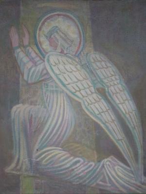Вячеслав Коренев. The kneeling angel