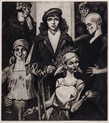 "Victor Georgievich Efimenko. ""The Master and Margarita"". Based on M. A. Bulgakov. ""Margarita Phenomenon"". ""Reflection in glass"". 1978-1992"