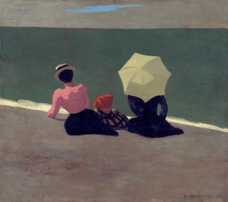 Felix Vallotton. On the beach
