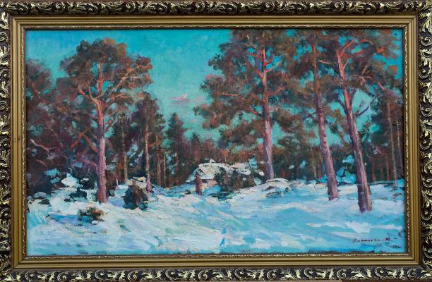 Igor Eduardovich Vasilevsky. Winter in the village