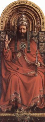 Хуберт ван Эйк. Бог-Отец. Гентский алтарь
