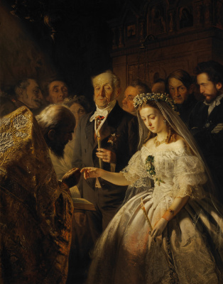 Vasily Vladimirovich Pukirev. The unequal marriage