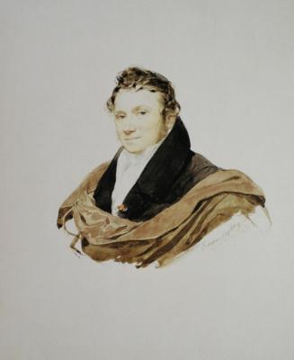 Karl Pavlovich Bryullov. Portrait of an unknown