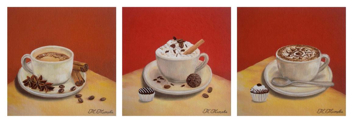 "Tatyana Titova. Triptych ""Cup"""