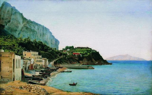 Gabriel Pavlovich Kondratenko. The Island Of Capri
