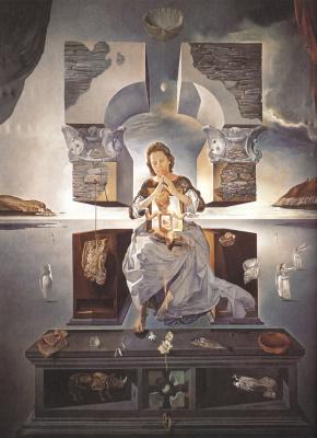 Salvador Dali. Madonna of Port Lligat
