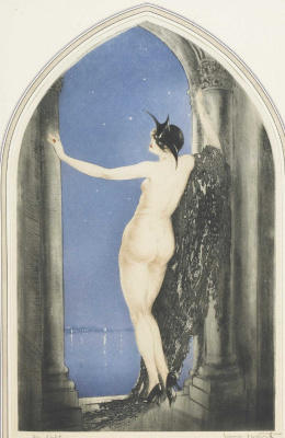 Icarus Louis France 1888 - 1950. Venetian nights. 1926