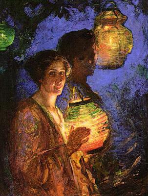 Лилиан Матильда Гент. Китайские фонарики