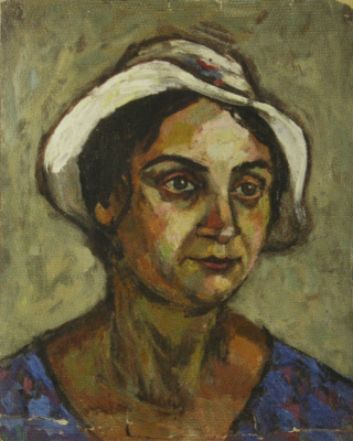 Ilya Lvovich Tabenkin. Portrait of sister