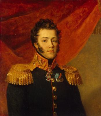 George Dow. Portrait Of Modest M. Okulov