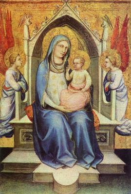 Лоренцо Монако. Мадонна на троне