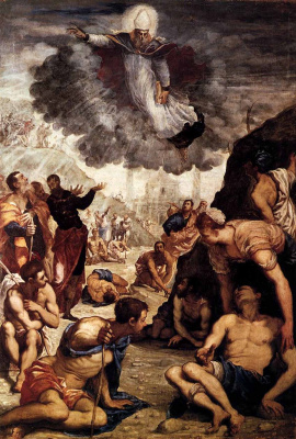 Jacopo (Robusti) Tintoretto. Miracle of St. Augustine