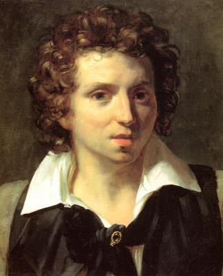 Théodore Géricault. Portrait of a young man