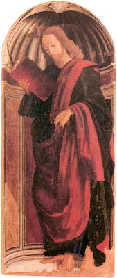Джованни Санти. Апостол с книгой