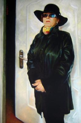 David Shikovich Brodsky. La femme