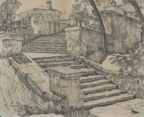 Дамиан Васильевич Шибнев. Mithridates staircase. Kerch