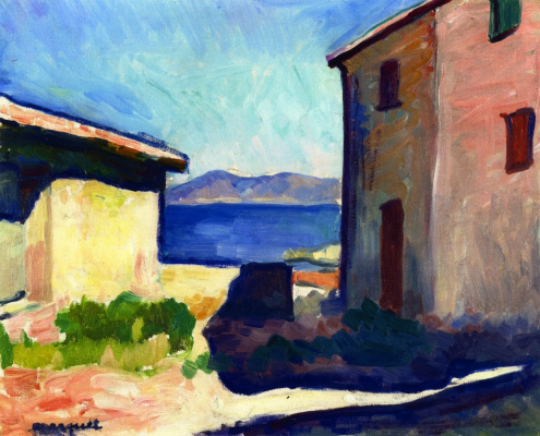 Albert Marquet. House in Saint-Tropez