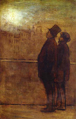 Honore Daumier. Men