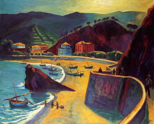 Max Pehshtein. Monterosso al Mare