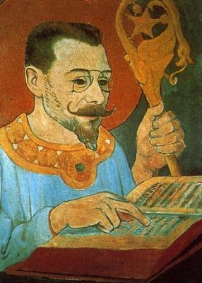 Поль Серюзье. Портрет Поля Рансона