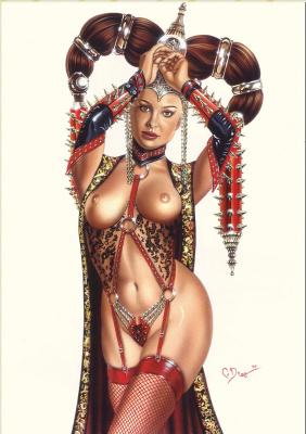 Карлос Диез Бустос. Красная принцесса