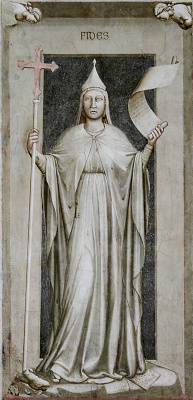 Giotto di Bondone. Vera. Seven virtues