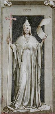 Giotto di Bondone. Vera. Seven virtues