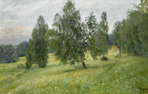 Isaac Levitan. Summer