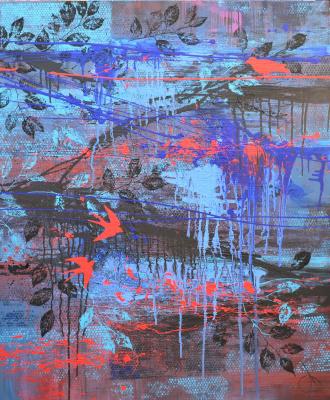 Таня Василенко. Linear perception, from #BOTANY artworks series