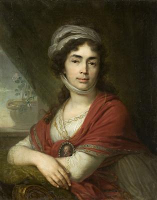 Vladimir Lukich Borovikovsky. Portrait of M. D. Dunin. 1799